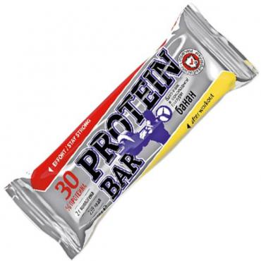 Протеиновый батончик Банан Effort Protein BAR, 60 гр., Флоу-пак