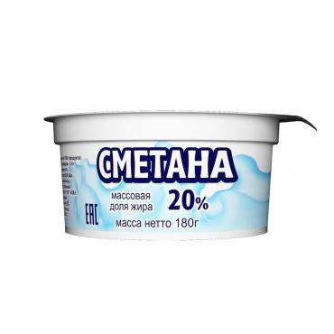 Сметана Приволжский МЗ 20% приволжский