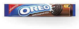 Печенье Oreo C какао и начинкой со вкусом шоколада