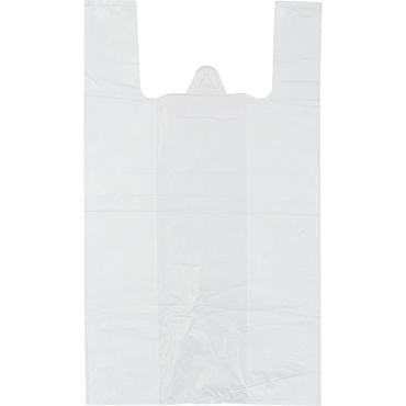 Пакет-майка (30+15)х55см, 14мкм, белый, 100шт