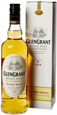 Виски односолодовый шотландский 5 лет Glen Grant Majors Reserve 40 %, 700 мл., картонная коробка