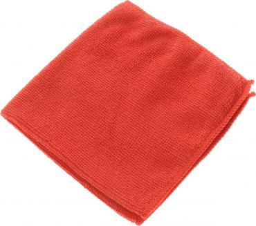 Тряпка из микрофибры 40х60 см., 250 г/кв.м. красная