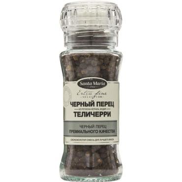 Перец чёрный Теличерри Santa Maria, 70 гр., стекло