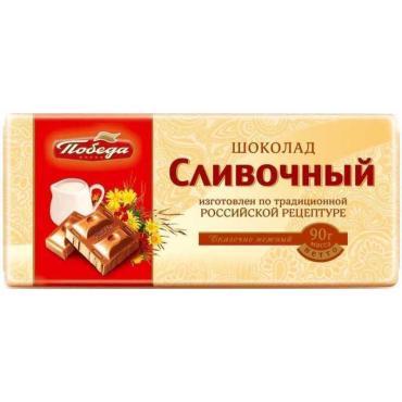 Шоколад Победа вкуса Сливочный 35%