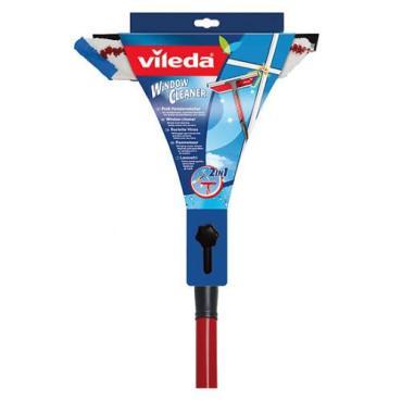 Очиститель окон 2 в 1 с телескопической ручкой, 1 шт., Vileda 515 гр.