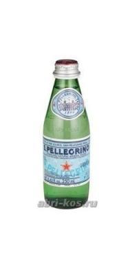 Вода San Pellegrino минеральная газированная 0,25л