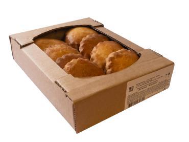 Печенье Коржик АйКонд, 500 гр., картонная коробка