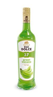 Сироп Don Dolce со вкусом зеленого банана, 700 мл, стекло
