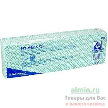 Салфетки WypAll X80 1-слойные