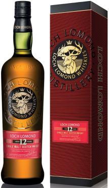 Виски «Лох Ломонд Сингл Молт 12 лет» в подарочной упаковке, Шотландия