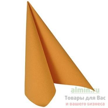 Салфетка Mapelor оранжевая 40х40 см 1-сл 30 шт/уп