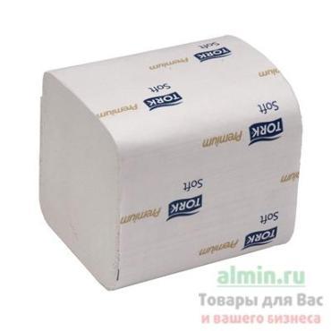 Бумага туалетная Система Т3 , комплект 30 шт., листовая, 252 л., 11х19 см., 2-слойная, Tork Premium E Soft, пластиковая упаковка