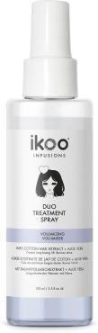 Спрей двойное восстановление волос Ikoo, Duo Treatment Spray Volumizing, Возмутительный объем 100 мл., пластиковая бутылка