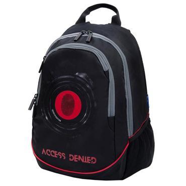 Рюкзак Berlingo b_Active Access 41*30*17 см, 2 отделения, 4 кармана, эргономичная спинка, LED кант