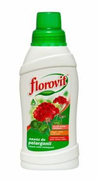 Удобрение жидкое Florovit Для пеларгоний и других цветущих растений