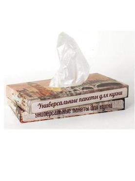 Пакеты универсальные для кухни 100 шт Vitalux, картонная коробка