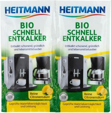 Очиститель накипи Heitmann Для кофеварок и электрочайников 2шт.