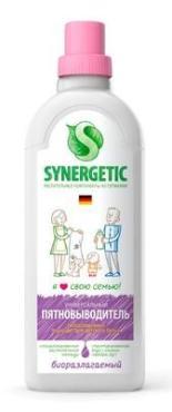 Средство для выведения пятен Synergetic, 1 л., пластиковая бутылка