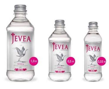 Вода минеральная природная питьевая столовая кристальная Jevea, 330 мл., Пластиковая бутылка