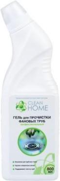 Гель для прочистки фановых труб Clean Home, 800 мл., Пластиковая бутылка