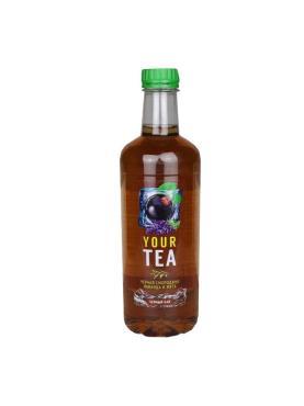 Напиток б/а негаз. Черный чай со вкусом черной смородины, лаванды и мяты , Дарида, 500 мл., ПЭТ