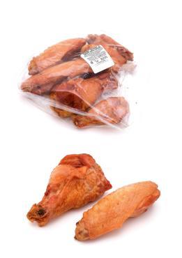 Крыло из мяса индейки, копчёно-вареные, вакуумная упаковка