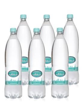 Вода минеральная природная питьевая газированная Серафимов Дар, 1500 гр., пластиковая бутылка