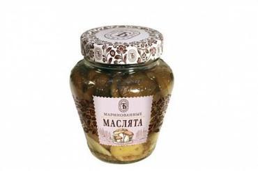 Грибы маринованные маслята, Сыта-Загора, 550 мл., стекло