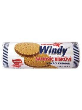 Печенье-сэндвич Винди с кремом какао 150 гр., обертка фольга/бумага