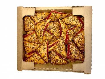 Печенье марокканское с брусникой и земляникой, Пекарь, 2 кг., картон