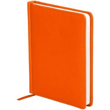 Ежедневник датированный 2021г., A6, 176л., кожзам, OfficeSpace Winner, оранжевый