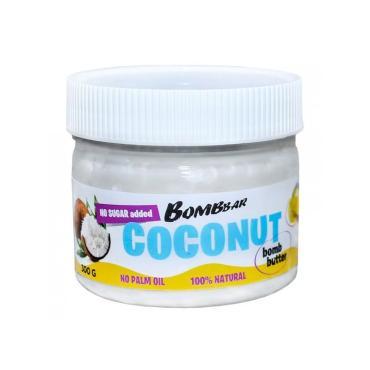 Паста кокосовая Bombbar Peanut bomb butter, 300 гр., пластиковая банка
