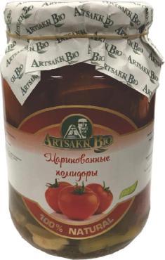 Помидоры Арм Эко маринованные , 720 гр, стекло