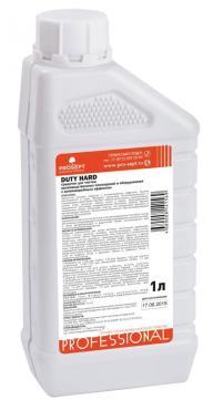 Средство для чистки производственных помещений и оборудования с дезинфицирующим эффектом Prosept Duty Hard, 1 л., пластиковая бутылка