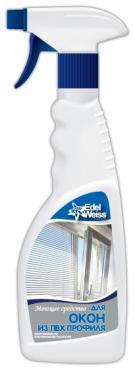 Моющее средство для стёкол, Edel Weiss, 500 мл., пластиковая бутылка