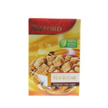 Чайный сахар Milford коричневый тростниковый нерафинированный
