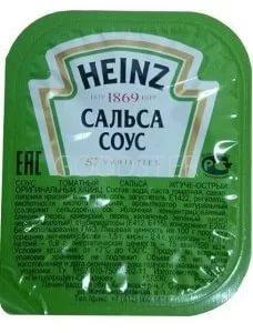 Кетчуп Heinz Сальса жгуче-острый порционный дип-пот