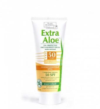 Солнцезащитный крем для всей семьи SPF 50, Vilsen, Extra Aloe , 100 мл., туба