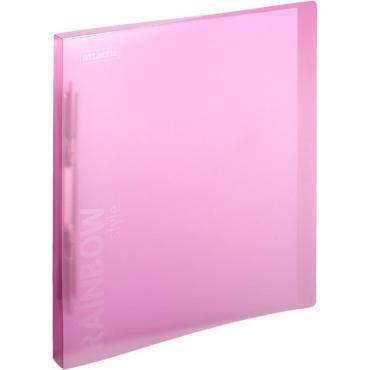 Папка скорос-тель с пруж.мех.Attache Rainbow Style розовый