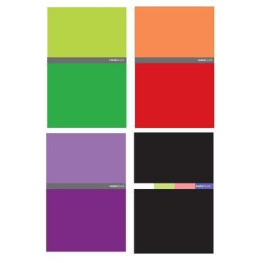 Тетрадь общая Attache (IPEK),96л,клет,А4,спир,обл.тв.карт,в асс