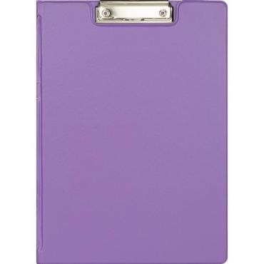 Папка-планшет с зажимом и крышкой Attache Bright colours A4 сиреневый