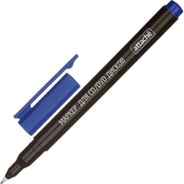 Маркер для CD ATTACHE синий 0,8 мм