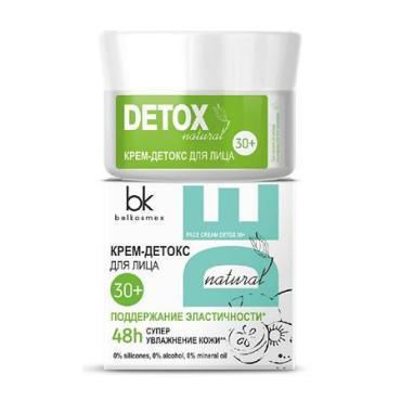 Крем-детокс 30+ для лица BelKosmex Detox, 48 гр., картонная коробка