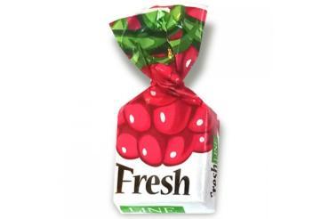 Конфеты малина Fresh Line, 1,5 кг., пластиковый пакет