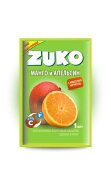 Растворимый напиток Манго-апельсин Zuko 25 гр., сашет