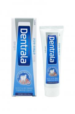 Зубная паста с ароматом мяты Dentrala Ice Mint Alpha, 120 гр., пластиковая туба