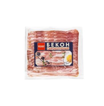 Бекон свиной с/к охл, нарезка, Велком, 500 гр., вакуум