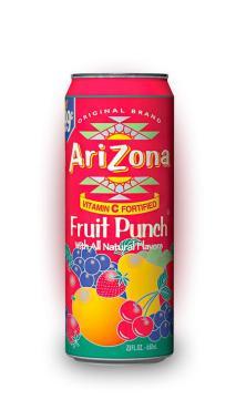 Напиток Arizona Fruit Punch 680 мл., жестяная банка