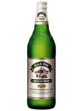 Пиво Harbin Premium светлое пастеризованное 5,5%