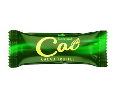 Конфеты с кремовым корпусом с трюфельным вкусом Cao Cacao, 1 кг., пластиковый пакет